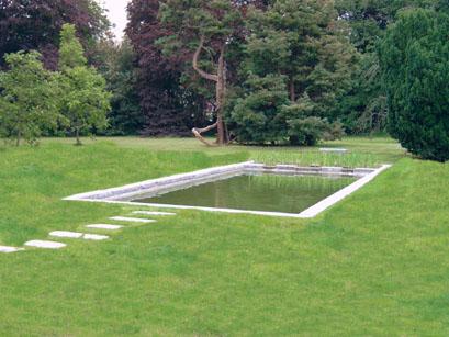 Aanleggen van vijvers in de tuin for Zwemvijver filtersysteem